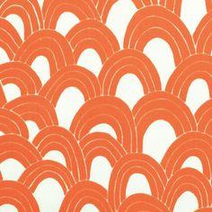 Arches Print - Orange