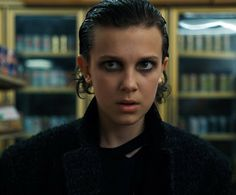 "Stranger Things Season 2 Millie Bobby Brown as ""Eleven"""