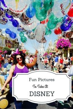 Fun & Unique Pictures to take at Disney World