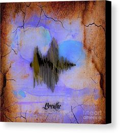 Fitness Breathe Art Canvas Prints.