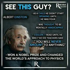 Einstein....a genius