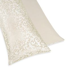Sweet Jojo Designs Victoria Maternity Body Pillow Case in Champagne/Ivory