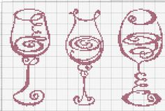 Blackwork Cross Stitch, Cross Stitch Charts, Cross Stitch Designs, Cross Stitching, Cross Stitch Embroidery, Cross Stitch Patterns, Knitting Patterns, Fillet Crochet, Cross Stitch Kitchen