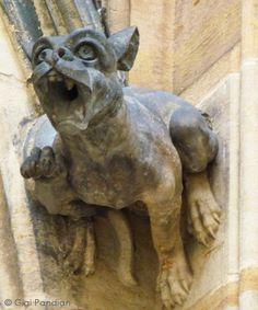 Gargoyle Girl: The Gargoyles of St. Vitus Cathedral in Prague