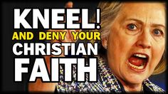 Hillary Clinton: Christians In America Must Deny Their Faith In Christianity, Adhere To New Liberal Laws Theodore Shoebat for Ending the Fed News reports vie. Crooked Hillary, Persecution, Pro Life, Christian Faith, Our Lady, Christianity, Donald Trump, Need To Know