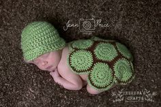 How adorable is the crochet turtle baby outfit! Great for newborns first photos!!  Check out this item in my Etsy shop https://www.etsy.com/listing/292375689/turtle-baby-outfit-crochet-turtle-baby