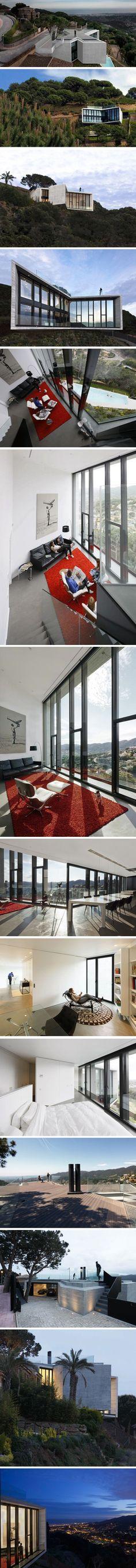Hill House par l\u0027architecte Andrew Maynard Design, Maison et Idée