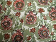 SUPER MOD vintage cotton fabric