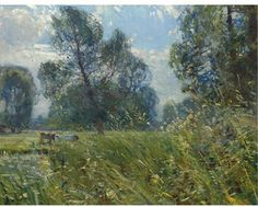 Sotheby's New York-LANDSCAPE WITH COWS