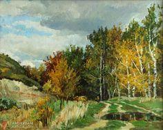 Painting for sale 'Mushroom time'  painting art sale realism landscape paintings