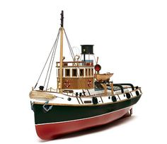 Occre Ulises Tug 1:30 Scale Model RC Wood and Metal Boat Kit