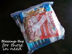 Momma Told Me: Blessings Bags: Help For The Homeless You Can Provide