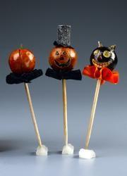 DIY Halloween : DIY Decorate Your Food with Halloween Picks DIY Halloween Decor