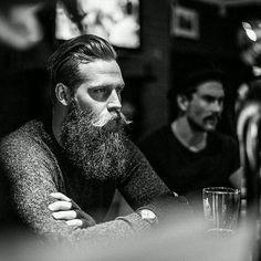 Dive bar beard