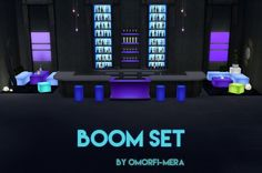 Peach and her Pan: Boom Set • Sims 4 Downloads
