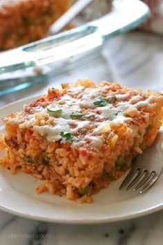 Sicilian Rice Ball Casserole