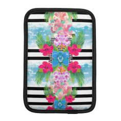 =>Sale on          	Girly Tropical Flowers Striped Fashion Patchwork iPad Mini Sleeves           	Girly Tropical Flowers Striped Fashion Patchwork iPad Mini Sleeves lowest price for you. In addition you can compare price with another store and read helpful reviews. BuyDiscount Deals          	...Cleck link More >>> http://www.zazzle.com/girly_tropical_flowers_striped_fashion_patchwork_ipad_sleeve-205048892603133447?rf=238627982471231924&zbar=1&tc=terrest
