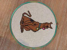 Scooby Doo Cross Stitch (pattern by Tiny Needle)