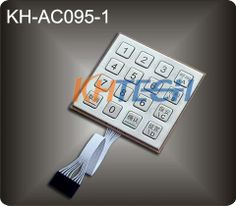 Metal keypad for access control systems - China Metal keypad for access control systems