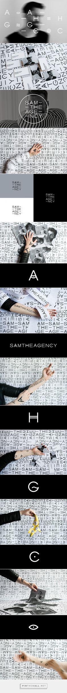 SAMTHEAGENCY on Behance - created via https://pinthemall.net