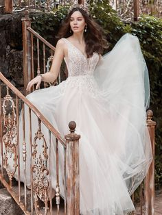 25553 - Rudy - Try this beauty on at Aurora Bridal in Melbourne, FL 321-254-3880 Perfect Wedding Dress, Boho Wedding Dress, Dream Wedding Dresses, Designer Wedding Dresses, Wedding Gowns, Colored Wedding Dresses, Bridal Dresses, Bridal Gown, Bridal Looks