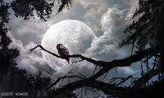 Night Owl  #nigt #owl #watercolor #pastel #painting #drawing #draw #art_gallery #artworks #doodle #art #moon #zazacnamoo #art_empire #art_collective #art_fashion #art_chitecture_ #art_of_nature #art_community #art_sharing #소통  #그림스타그램 #드로잉 #그림쟁이