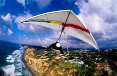 Hang Gliding - I can't imagine a more peaceful and freeing way to tour some of Mother Nature's gems. again, I'm just NOT THAT DARING! I'd probably crash into a cliff! The Places Youll Go, Places To See, Asa Delta, Hang Gliding, Fun Outdoor Activities, Bungee Jumping, Flying Boat, Whitewater Kayaking, Paragliding