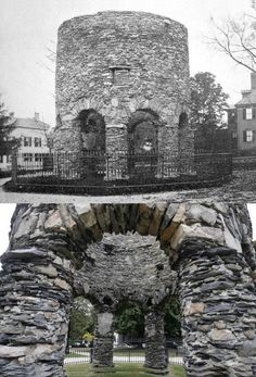 The origins of the Newport Tower are very mysterious!