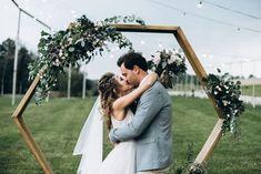 Easy DIY Archways for Outdoor Weddings