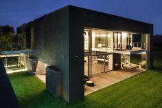 Maison cube - maison cubique - plan maison cube - maison en kit - maison cubique toit plat