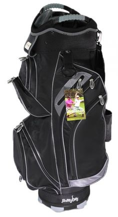 Check out what #lorisgolfshoppe has for your days on and off the golf course! Molhimawk Men's M2500 Golf Cart Bags - Grey & Black