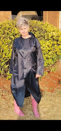 Rain Coats, Rain Jacket, Windbreaker, Navy Blue, Jackets, Fashion, Down Jackets, Moda