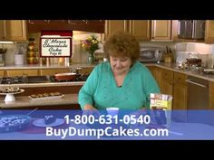 Dump Cakes Recipe Cookbook As Seen On TV Commercial