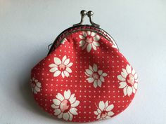A personal favourite from my Etsy shop https://www.etsy.com/hk-en/listing/470404659/small-handmade-coin-purse-little-daisy