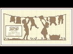 2012 grille gratuite BDcouture - Cross stitch pattern for the laundry room.  Maybe if I hug this I would like doing laundry more...nahhhh.