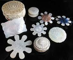 antique thread winders - Google Search