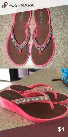 6b5bb05de40b3 ☀️5  15 Girl s Sandals capelli New York kids thong sandals size 13. But