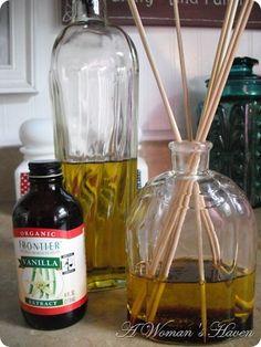 Olio per difusore fai da te - DIY fragrance oil diffuser