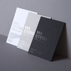 Graphic Design by Daniel Freytag. Beautiful single color graphic design using hot foil.Subtle and elegant. Graphic Design by Daniel Freytag. Beautiful single color graphic design using hot foil.Subtle and elegant. Design Brochure, Graphic Design Branding, Corporate Design, Identity Design, Business Card Design, Typography Design, Spot Uv Business Cards, Minimal Business Card, Black Business Card