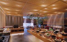 Japanese buffet restaurant