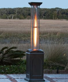 Tall Mocha Square Patio Heater | Daily deals for moms, babies and kids