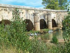 Acueducto de Abánades en Melgar de Fernamental - Burgos