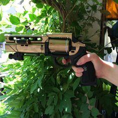 Fatebringer Hand Cannon Destiny 3D Printed & Hand by Printelier