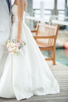 Preppy Key West Beach Wedding | See more on Style Me Pretty: http://www.StyleMePretty.com/little-black-book-blog/2014/02/11/preppy-key-west-beach-wedding/ 1313 Photography