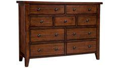 Aspen - Cross Country - 9 Drawer Chesser - Jordan's Furniture