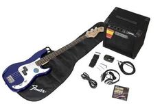 Fender Squier Affinity Precision Bass Pack Metallic Blue