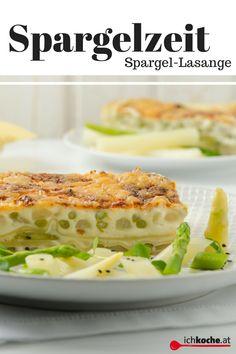 Lasagne mal anders! In diesem Rezept hat sich Spargel versteckt - einfach köstlich! Creamy Sauce, Crickets, Cooking