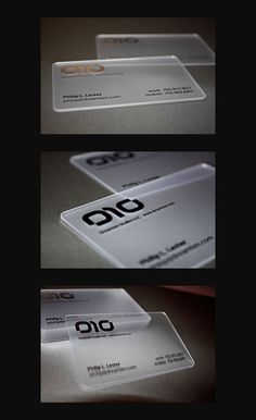 Great business card designs - freelance graphic design