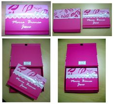 Agenda com caixa - Pink