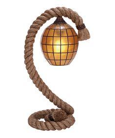 Amber Hanging Lantern Pier Lamp